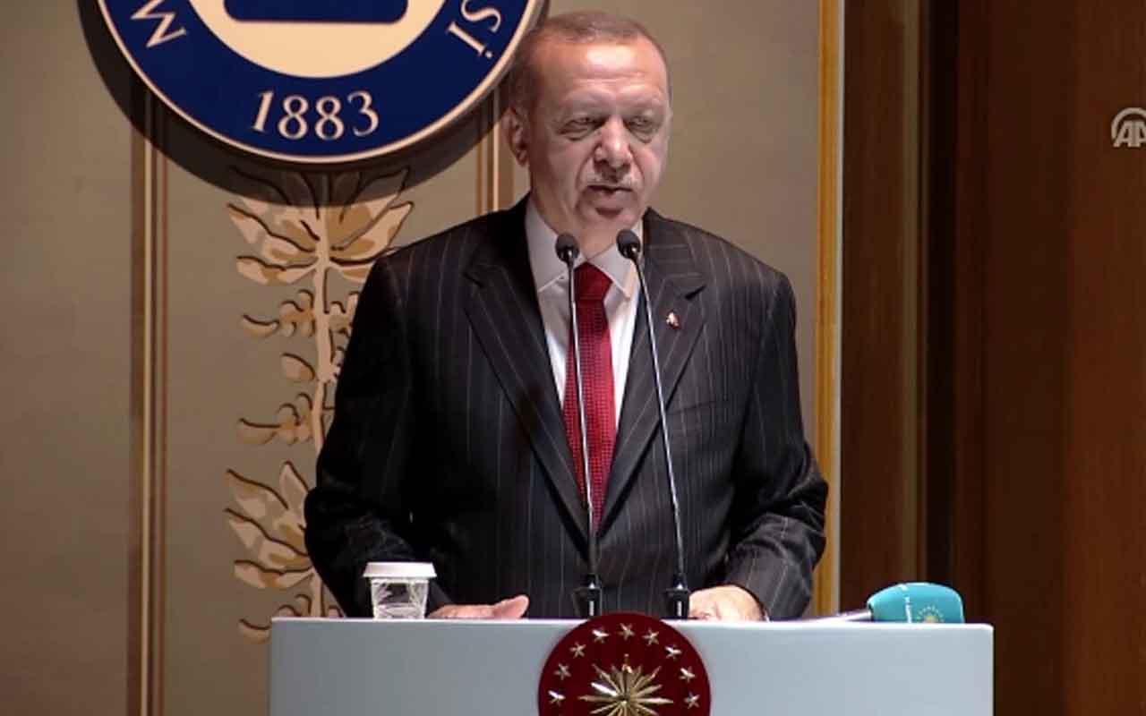 """Erdoğan """"Finans merkezi projesinin 2020 yılında hayata geçirilmesini bekliyoruz"""""""