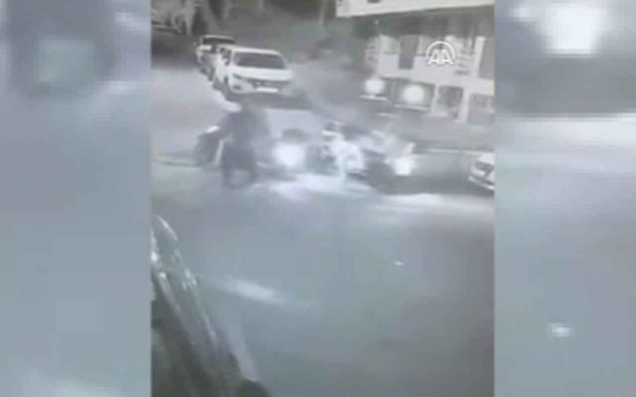 Kadıköy'de milli kick boksçunun yan bakma cinayeti kamerada