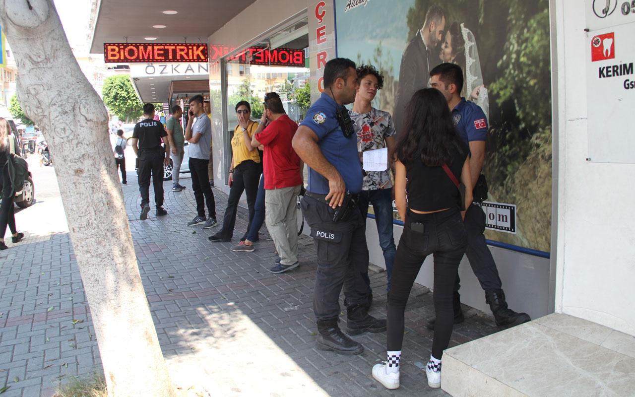 Alanya'da polis öğrenciler için görev başında