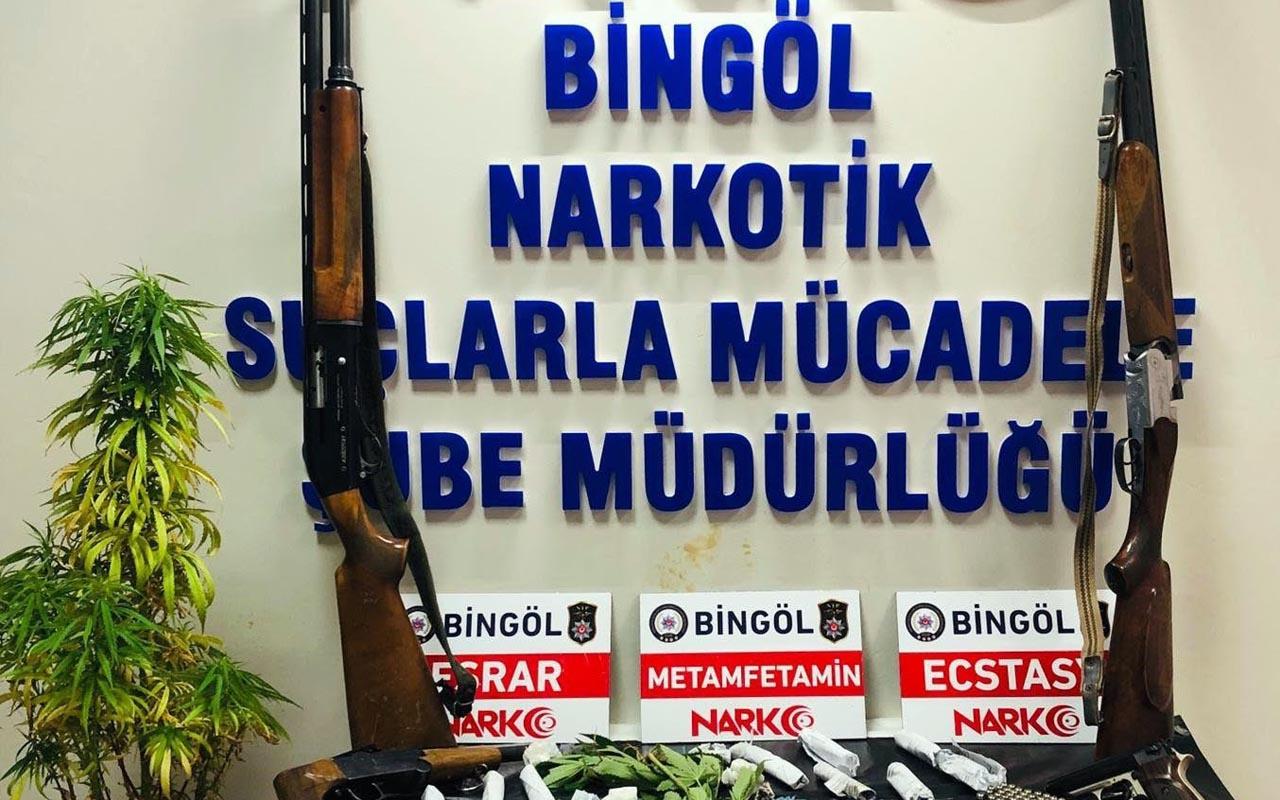 Bingöl'de dev uyuşturucu operasyonu: 250 polis katıldı 20 tutuklama