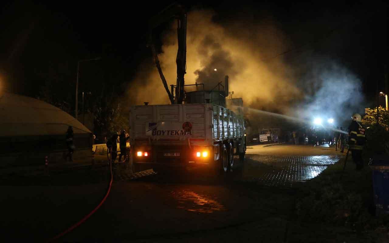 Aydın'da kamyonun kasasındaki boya kazanı patladı: 5 yaralı