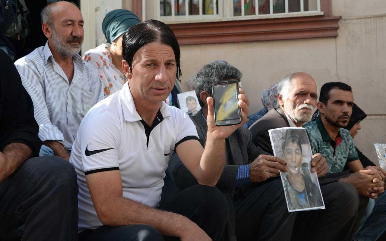 Nevruz'a gitti dağa kaçırıldı HDP önündeki eylemde aile sayısı 19 oldu