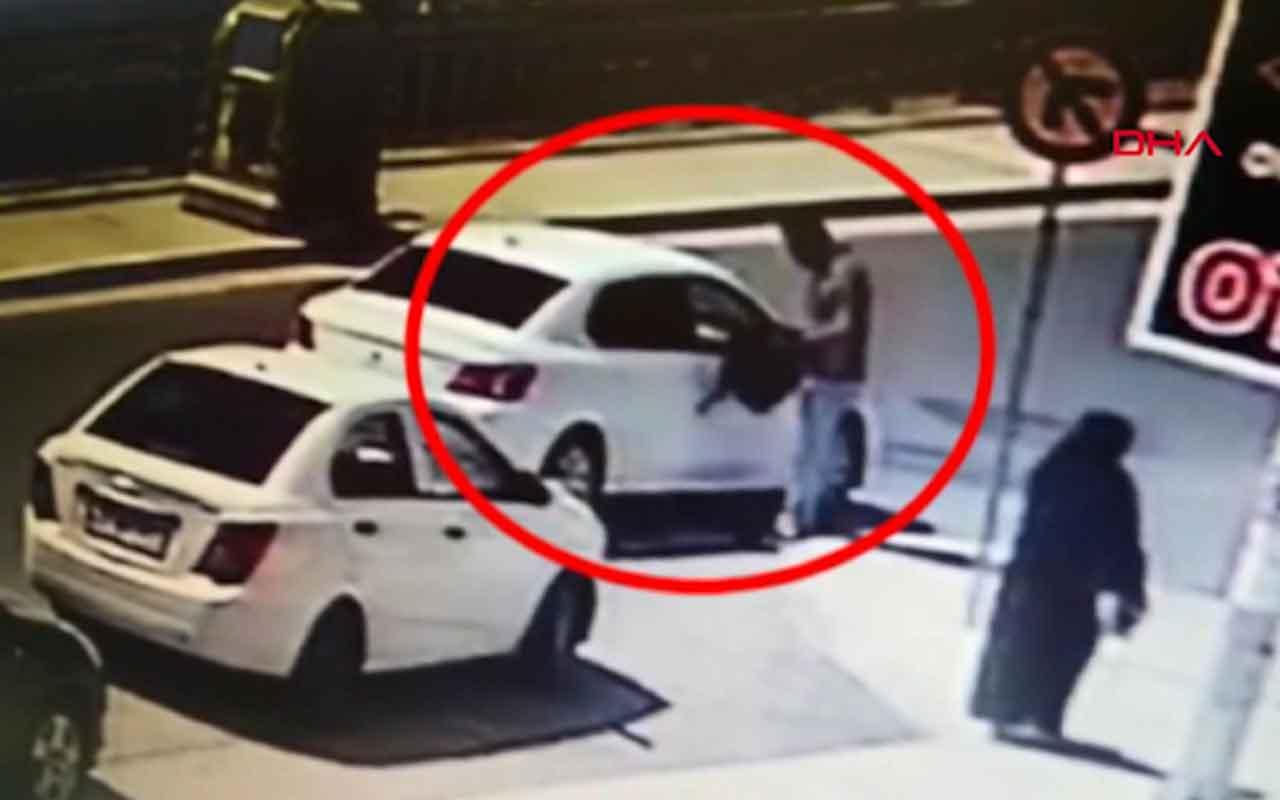 İranlı şüphelilerin tırnakçılık yöntemiyle yaptığı dolandırıcılık kamerada