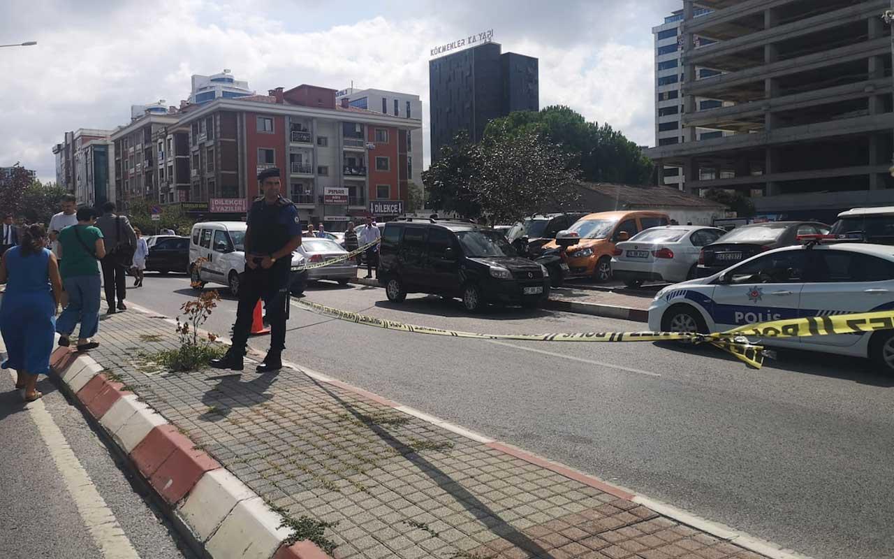 Kartal'daki Anadolu Adalet Sarayı önünde silahlı saldırı