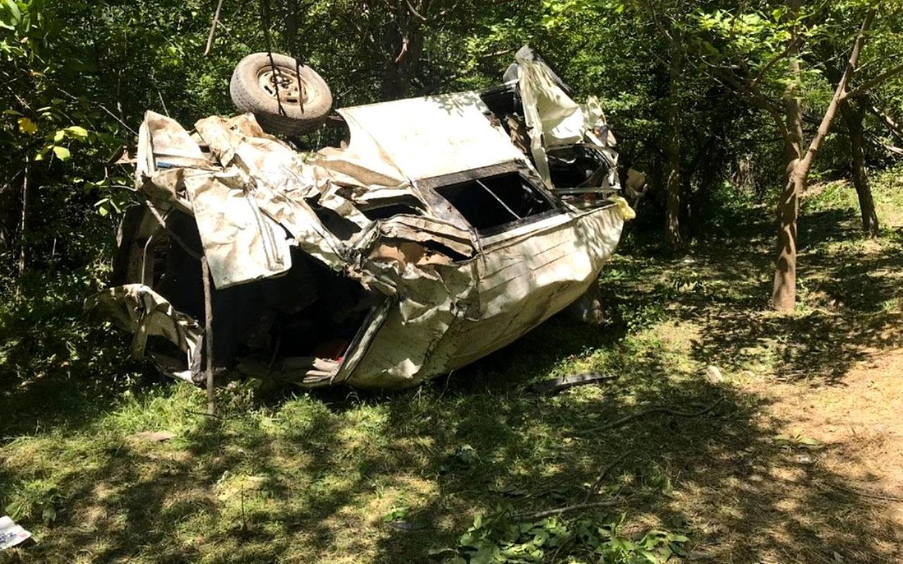 Bitlis'te dehşet veren kaza! 10 kişi hayatını kaybetti 7 kişi yaralandı