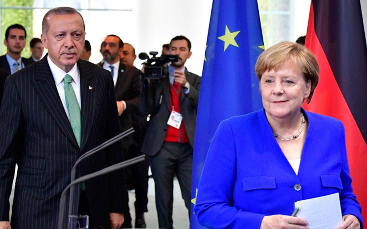 Libya Konferansı öncesi Erdoğan ve Merkel telefonda görüştü