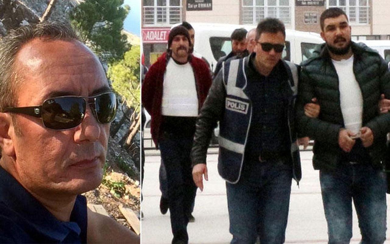Burdur'da restorant sahibini öldüren sanıkların cezaları müebbete çevrildi!