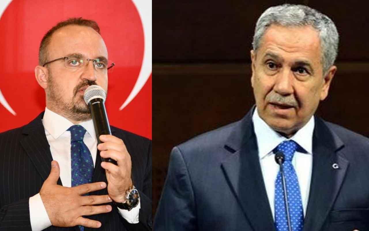 """Bülent Arınç'tan Bülent Turan'a sert cevap """"Sana yazık olur"""""""
