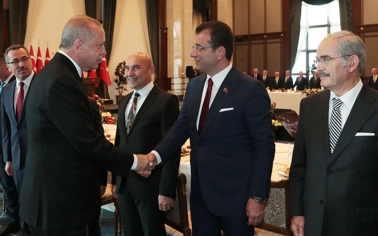Ekrem İmamoğlu ve Cumhurbaşkanı Erdoğan arasında kırılan koltuk diyaloğu!