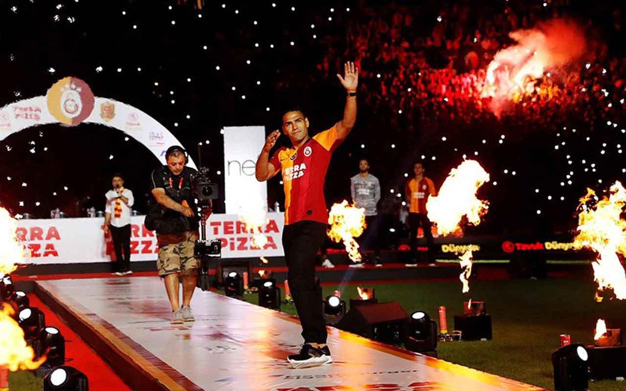 Galatasaray'dan 12 dakikalık Radamel Falcao videosu