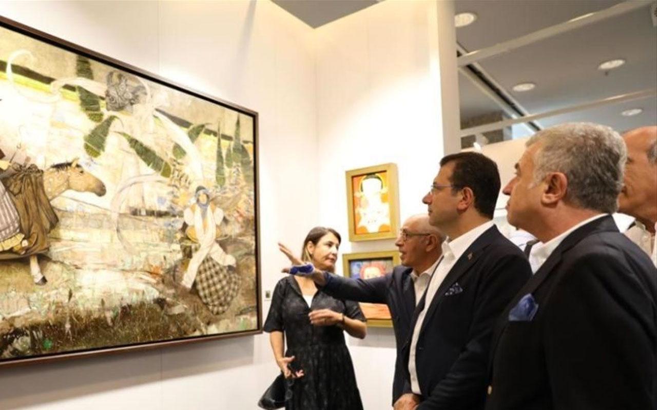İmamoğlu Contemporary Istanbul sergisinde müjdeyi verdi: Kültür sanat meclisimiz olacak