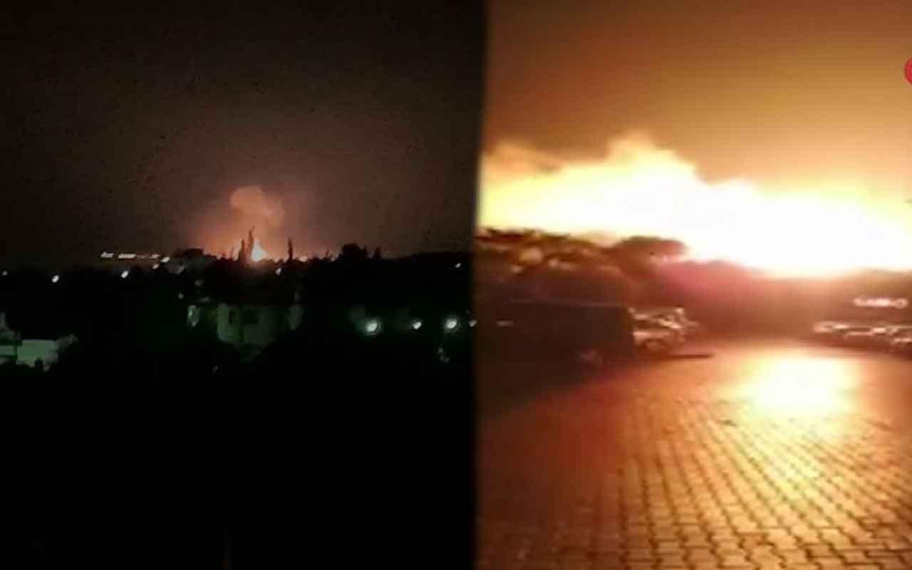 KKTC'de askeri bölgede art arda şiddetli patlamalar