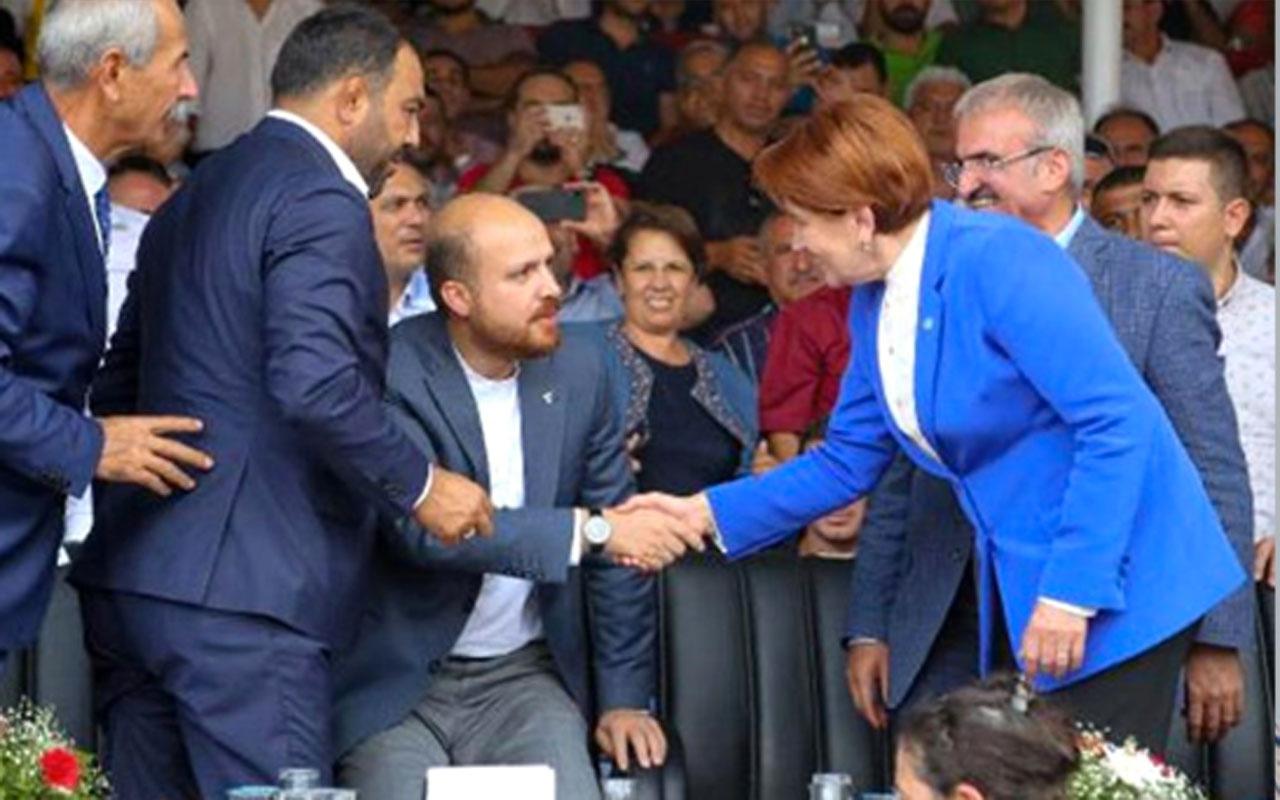 Bilal Erdoğan'la tokalaşması sorulan Meral Akşener'den çarpıcı çıkış