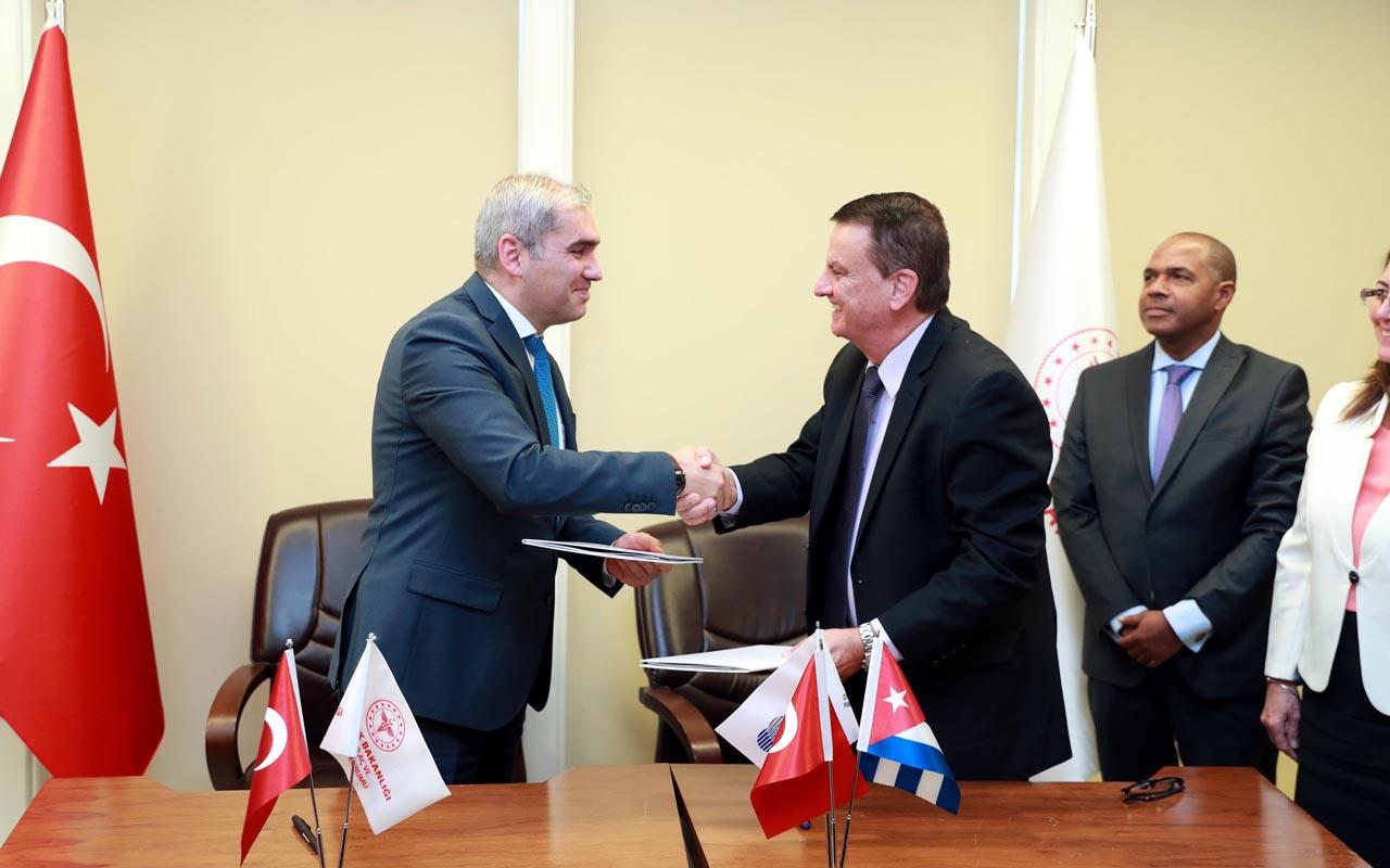 Sağlık Bakanlığı'ndan önemli adım! Küba ile ilaç aşı ve tıbbi cihaz alanında işbirliği