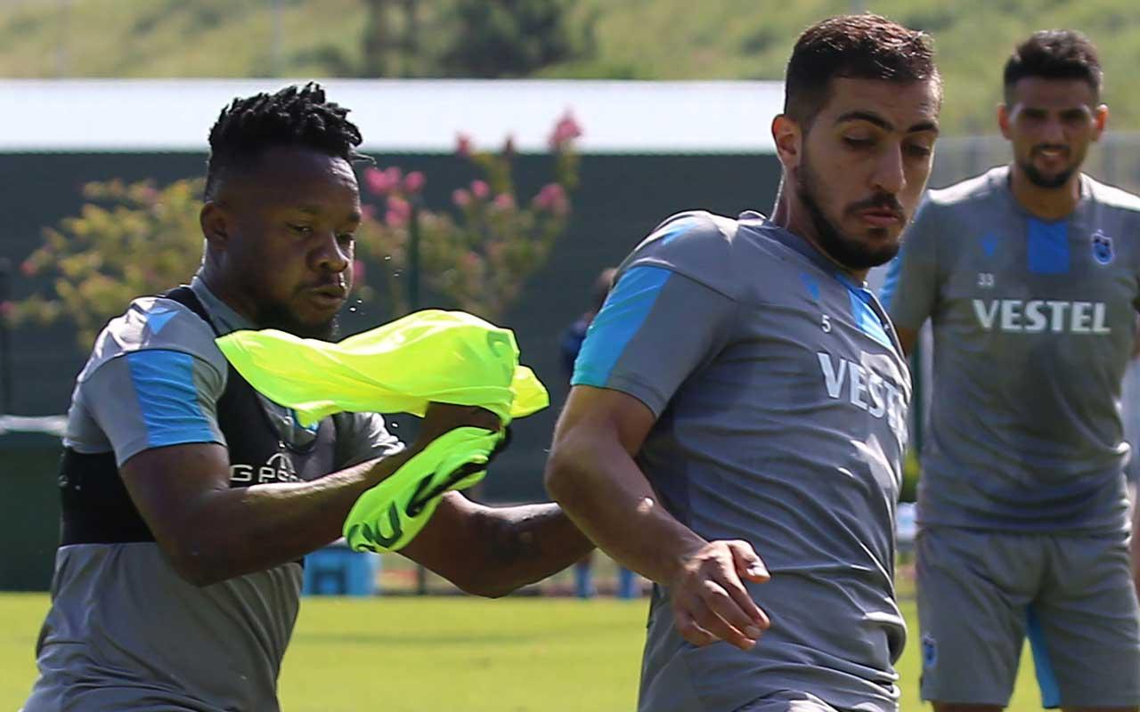 Trabzonspor'da Onazi ve Kamil Ahmet takımla çalıştı