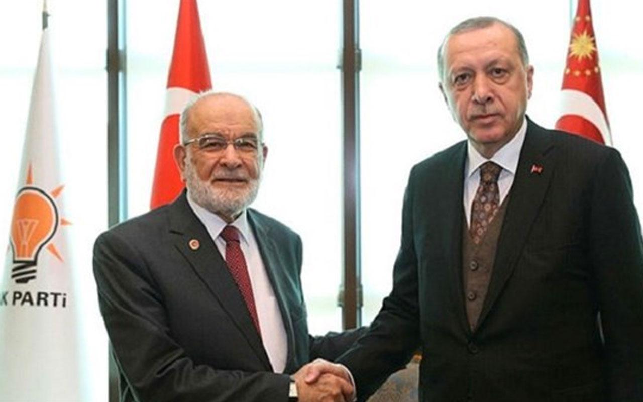 Temel Karamollaoğlu'ndan Erdoğan'a ziyaret