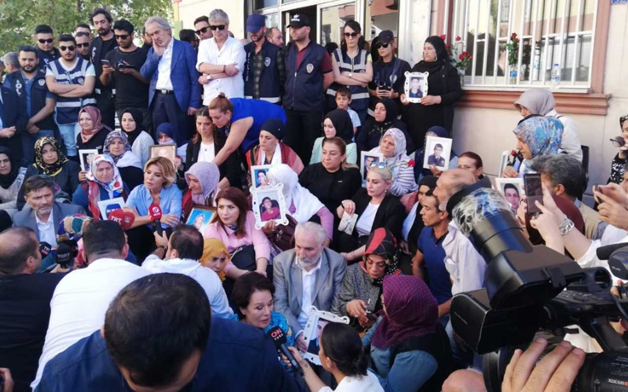 Sanatçılardan Diyarbakır'da eylem yapan annelere destek: Anne feryadının siyaseti olmaz