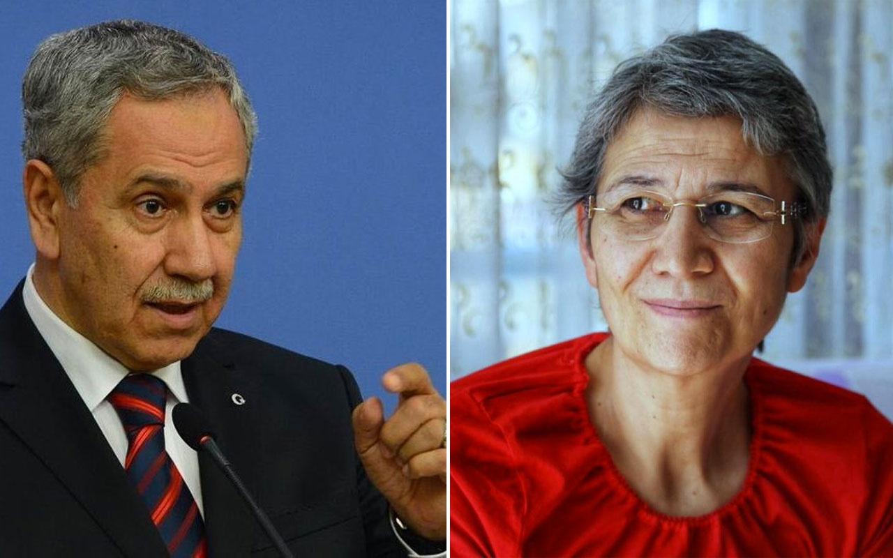 Bülent Arınç'a 'hadi bunu da savun' dediler HDP'li Leyla Güven'den olay sözler
