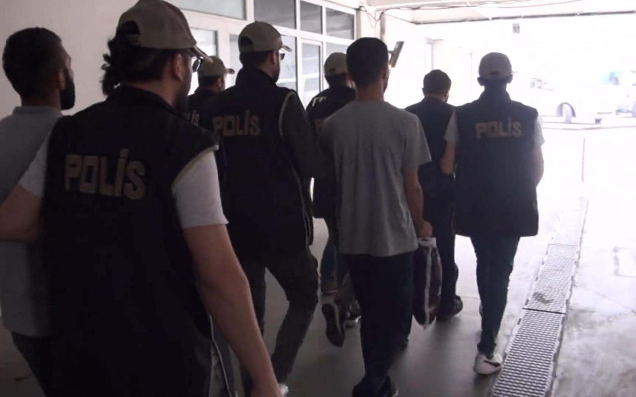 Arnavutköy'de orman yangını çıkarmaya çalışan 3 terör örgütü üyesi yakalandı