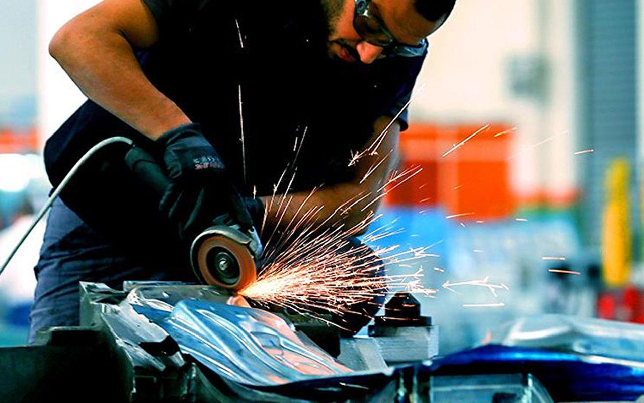 TÜİK açıkladı: Sanayi üretimi yıllık yüzde 1.2 azaldı