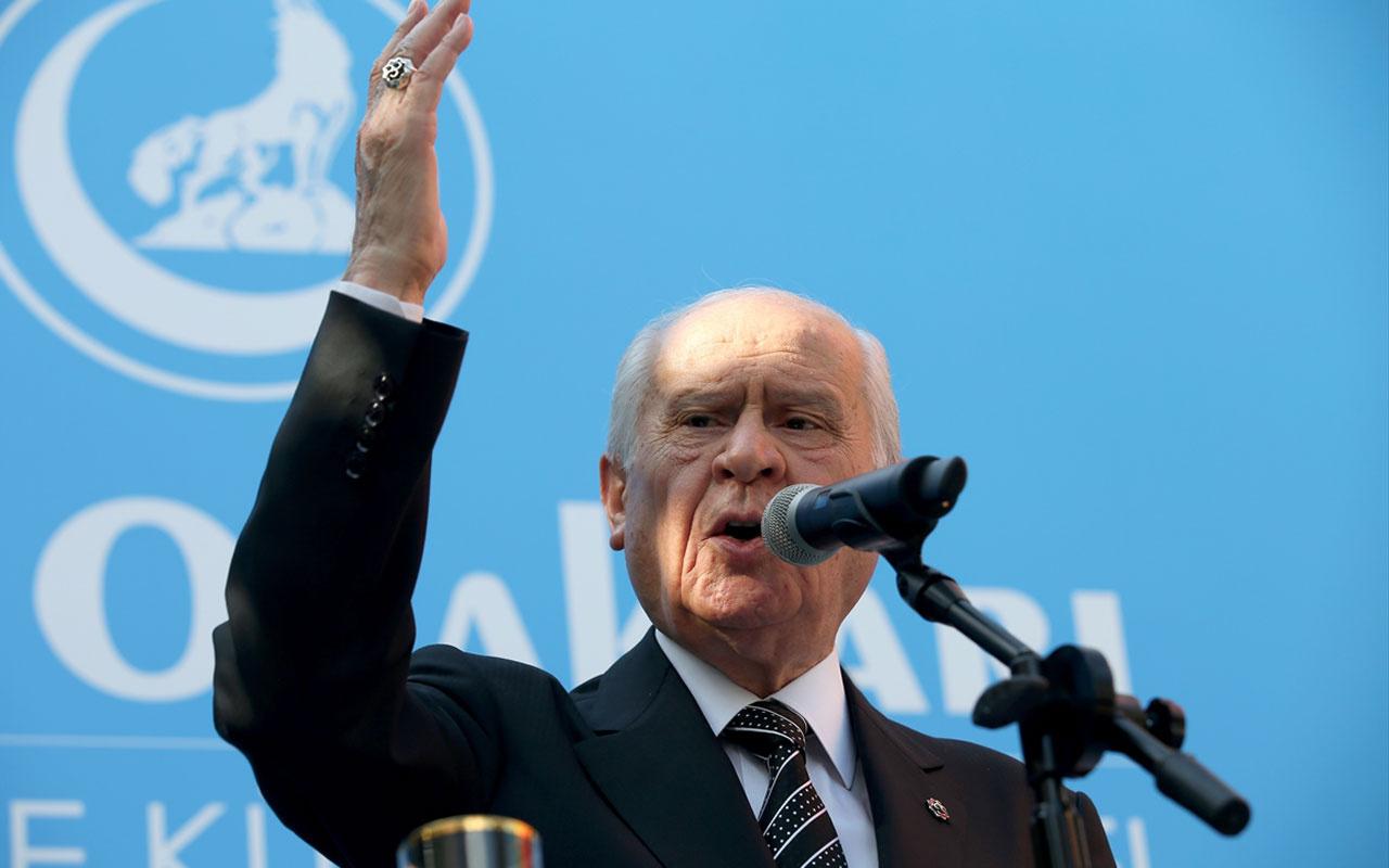 Devlet Bahçeli'den flaş Kılıçdaroğlu tepkisi: Dokunulmazlığı kaldırılsın