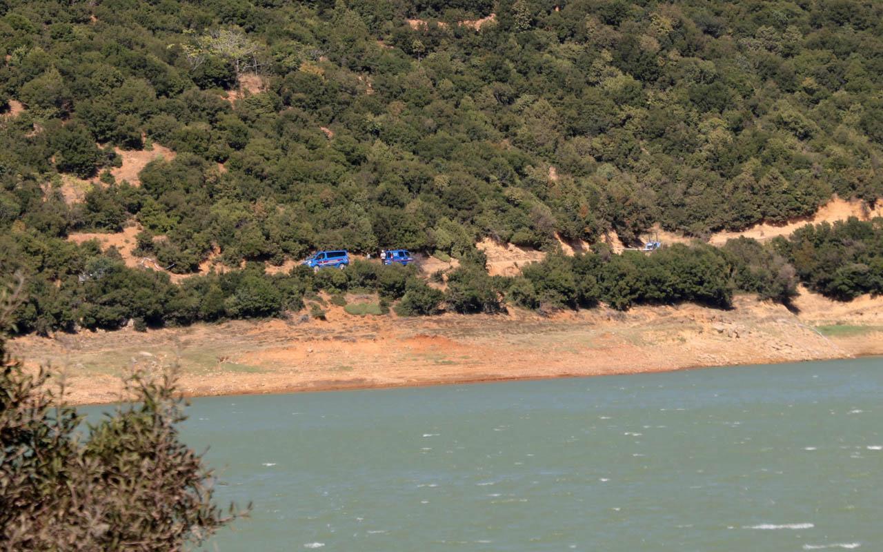 Baraj kenarında keçi otlatırken, ceset buldu