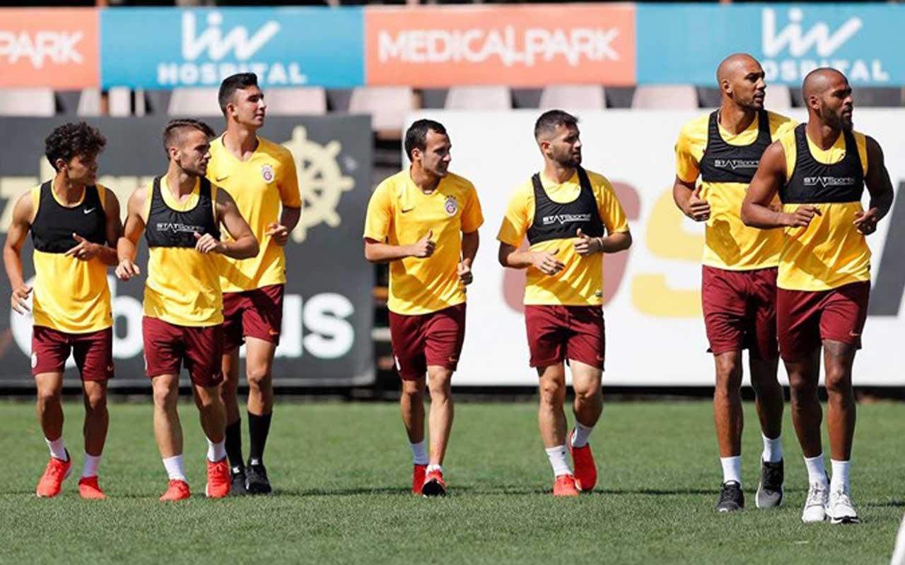 Galatasaray'da Club Brugge maçı hazırlıkları başladı