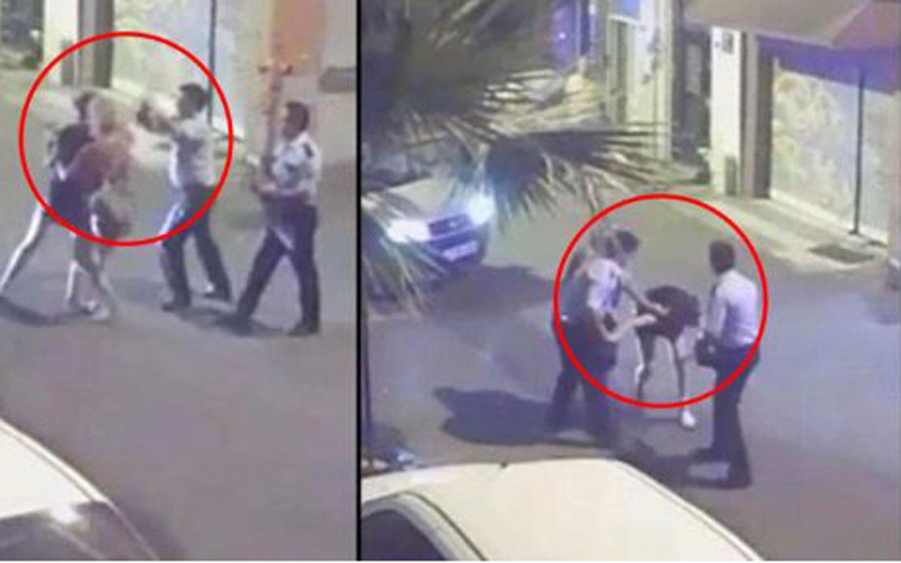 İzmirli kızları darp eden dayakçı polis, bağış yapmayı reddedip sanık oldu