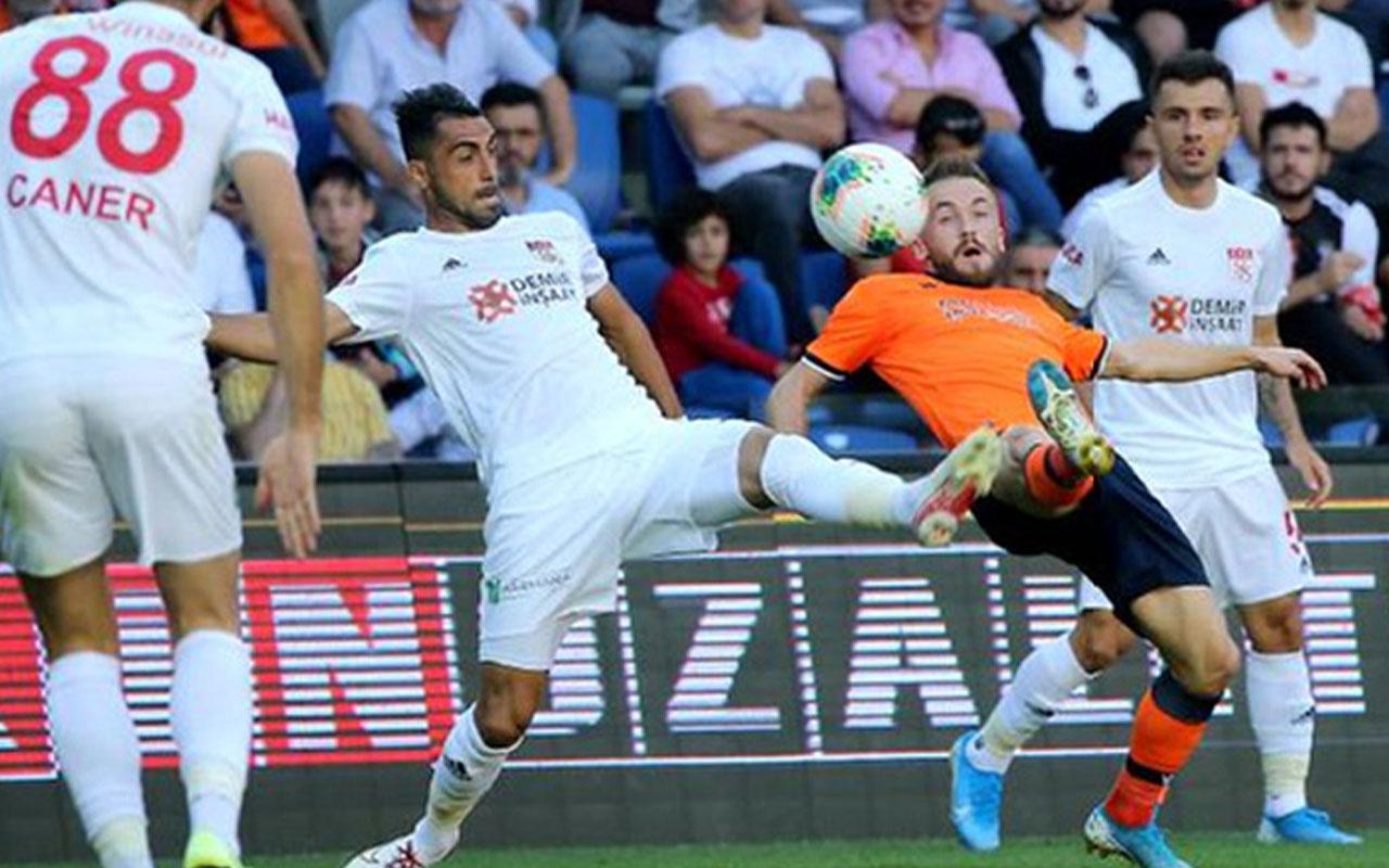 Başakşehir ve Demir Grup Sivasspor berabere kaldı