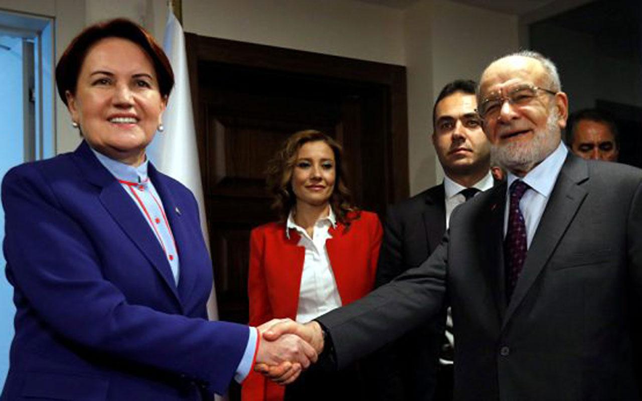Meral Akşener'in 'Anahtar partiyiz' sözlerini Karamollaoğlu Tİ'ye aldı: Maymuncuk var