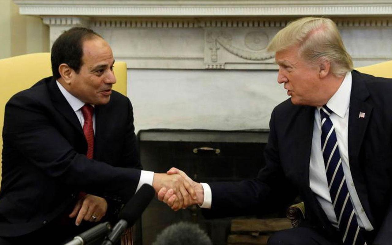Donald Trump Sisi'den 'en favori diktatörüm' diye bahsetmiş