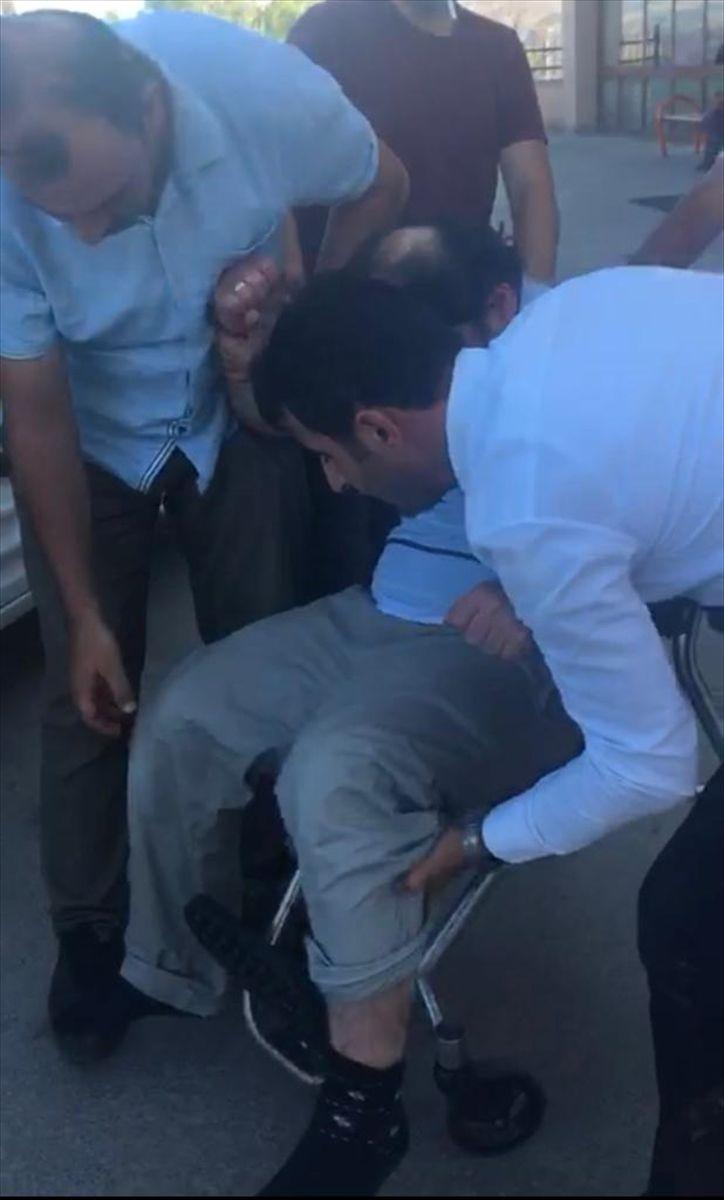 Konya'da gözaltına alınan FETÖ'nün mahrem abisi polise zor anlar yaşattı