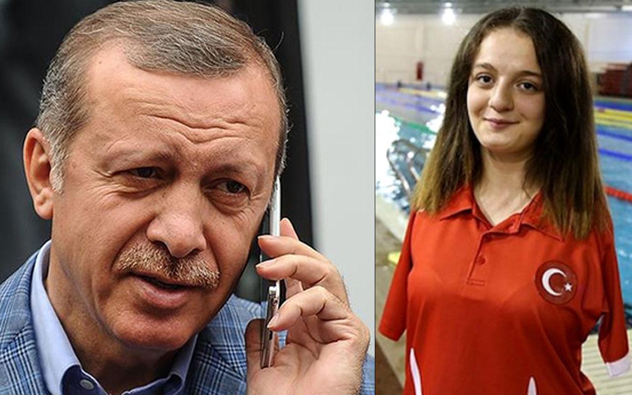 Erdoğan'dan Sümeyye Boyacı ve Sevilay Öztürk'e tebrik telefonu