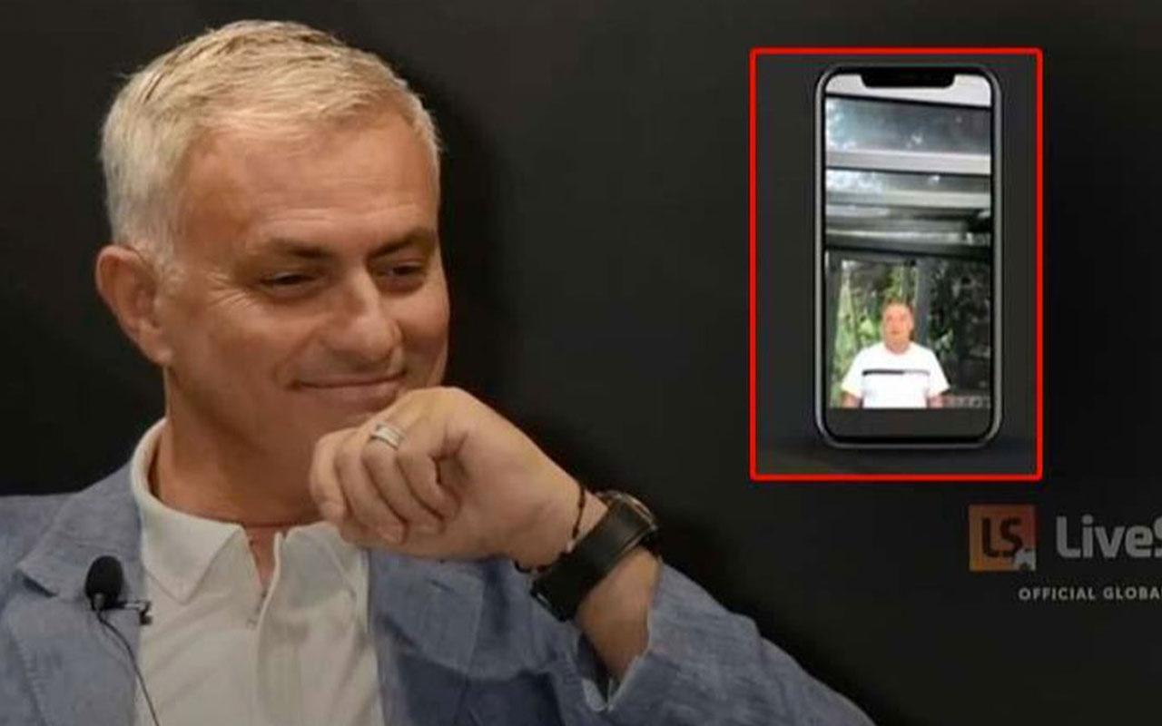 Mourinho özel röportajında yer alan Fatih Terim'i öve öve bitiremedi Terim'in İtalyancası bomba