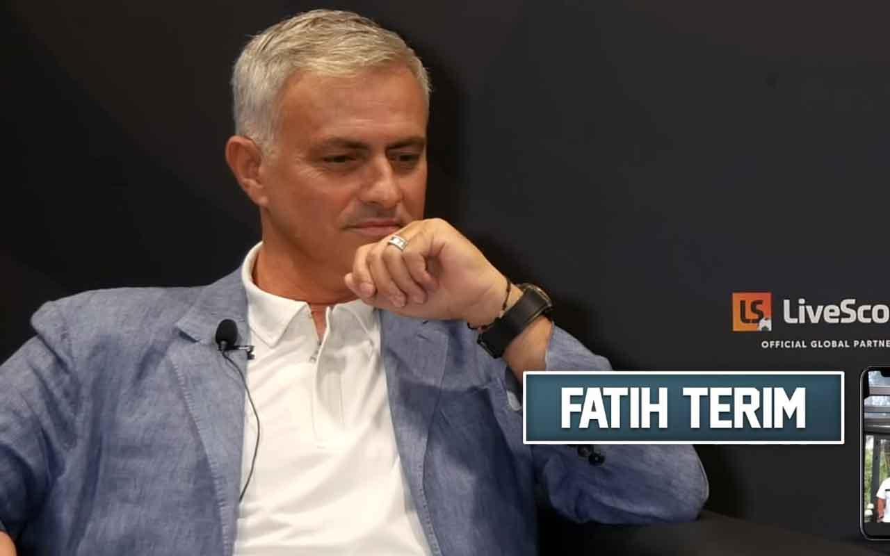 Mourinho Fatih Terim'i öve öve bitiremedi Terim özel röportajda yer aldı İtalyancası bomba