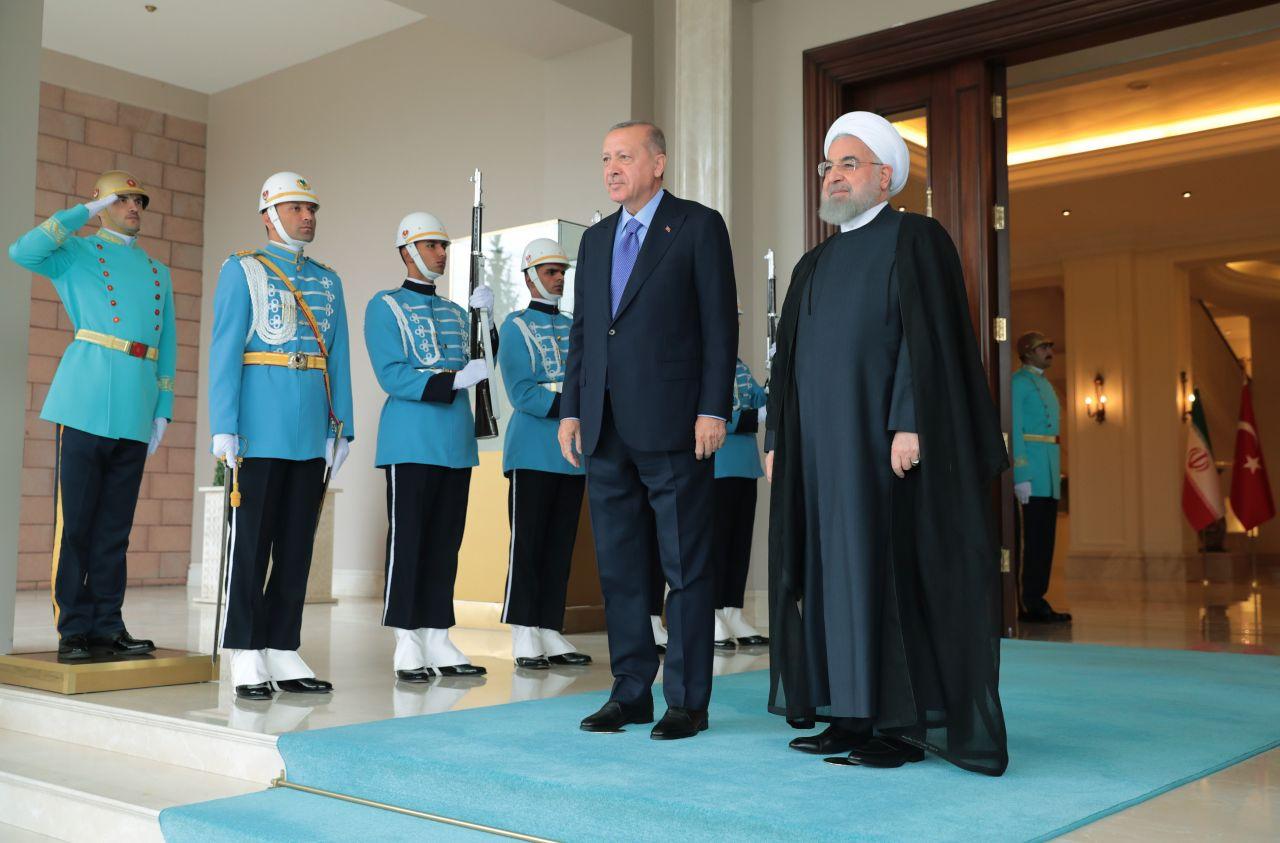 Erdoğan Türkiye-İran-Rusya Üçlü Zirvesi öncesi Putin ve Ruhani ile başbaşa görüştü