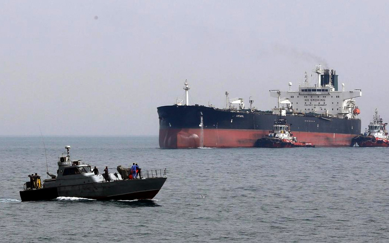 Körfezde yüksek tansiyon! İran BAE tankerine el koydu