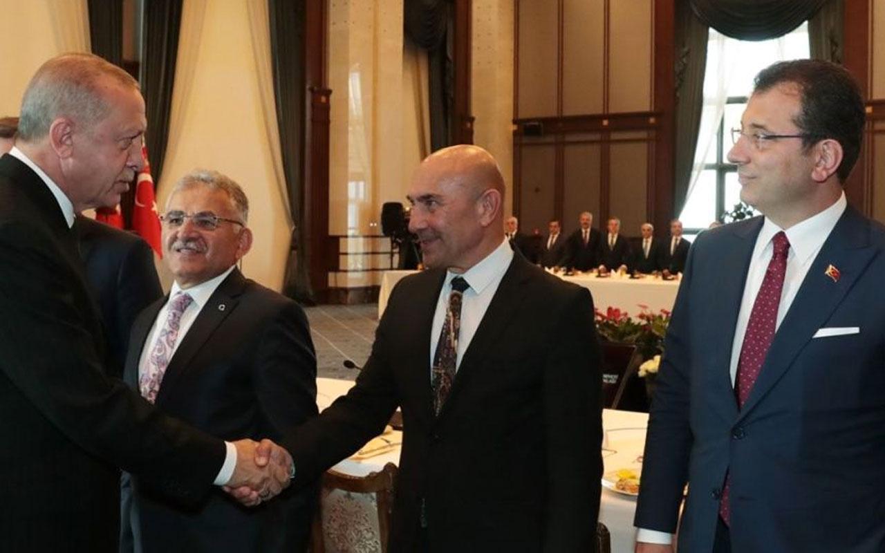Ekrem İmamoğlu Cumhurbaşkanı Erdoğan'ın yüzüne bakın ne söylemiş!
