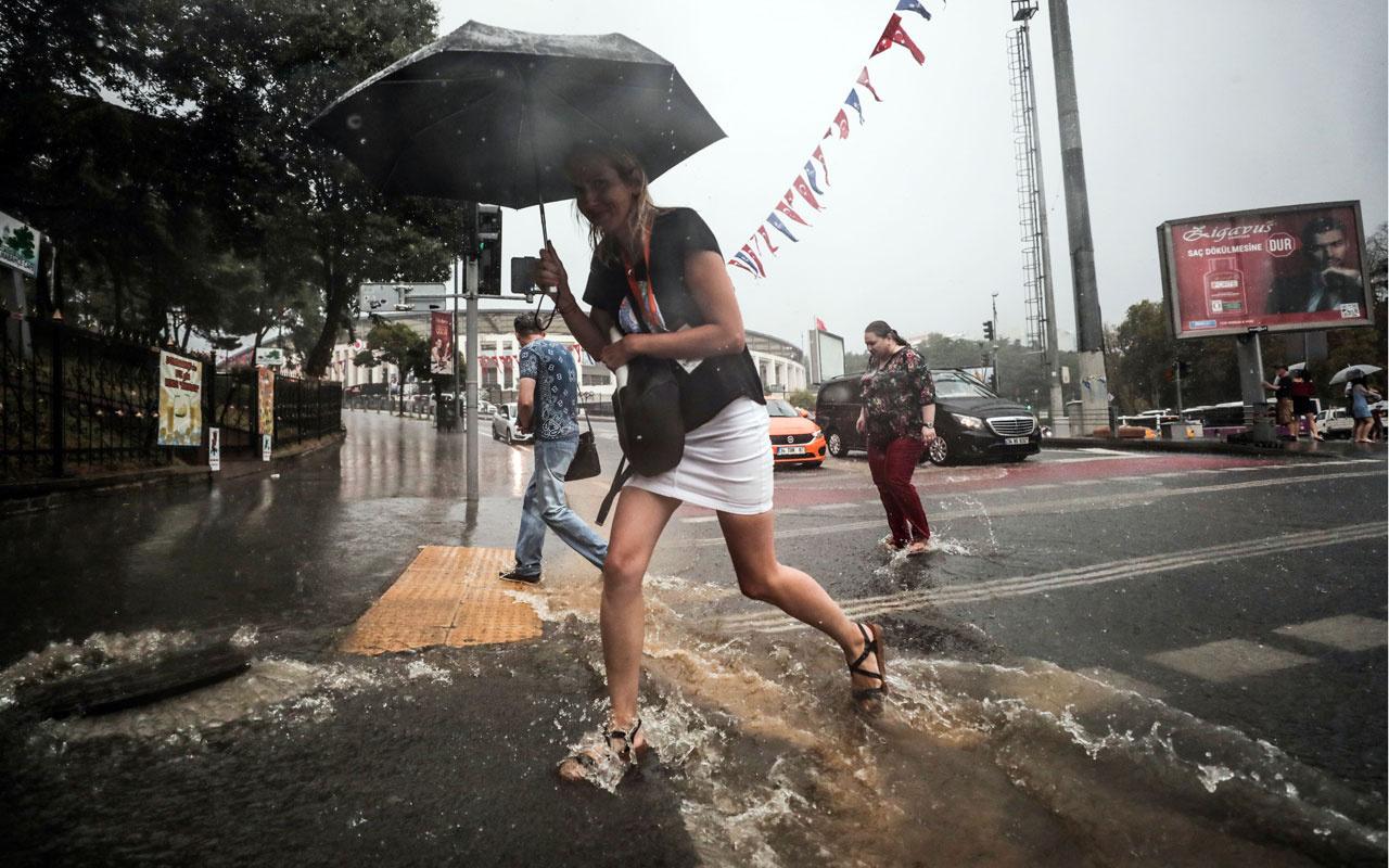 İstanbul ile birlikte bu iller dikkat! Sağanak yağış etkili olacak