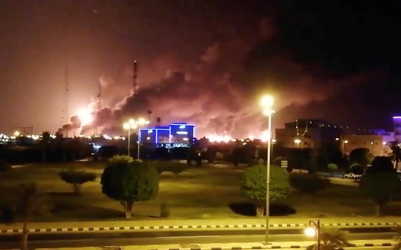 Suudi Arabistan ve ABD'den İran'a Aramco suçlaması