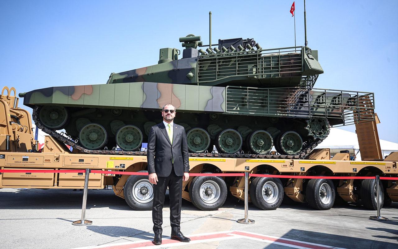 TEKNOFEST'te sergilenen yerli tank Altay T1 için sürpriz çalışma