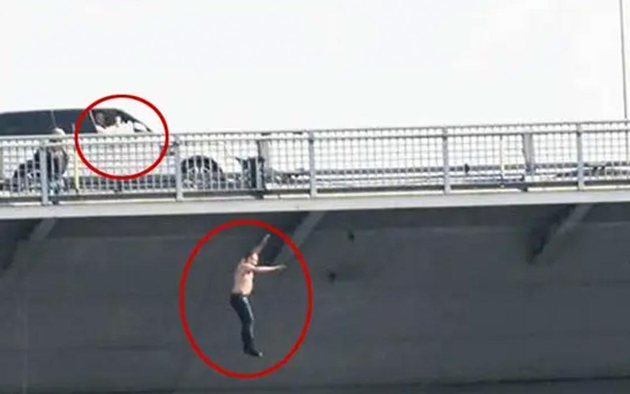 Köprüde intihar girişimi sırasında vatandaşa 'atla' diyen kadınlar hakkında flaş karar