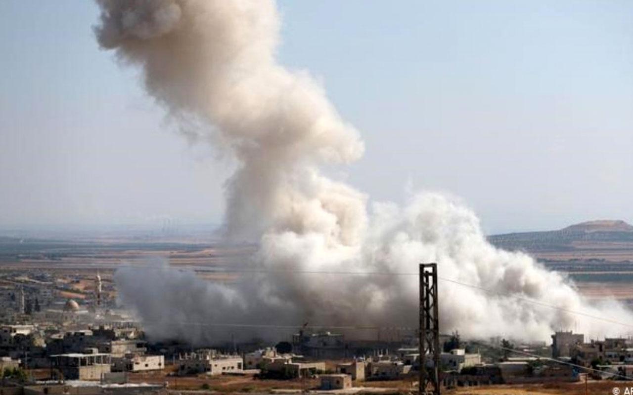 Suriye'de hava saldırısı! 10 İran askeri öldürüldü