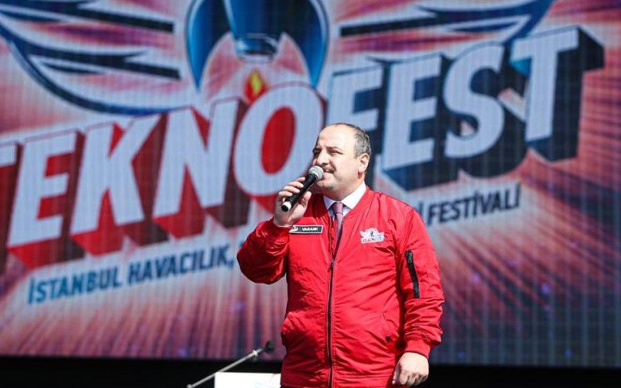 Mustafa Varank'tan TEKNOFEST'te dikkat çeken açıklamalar