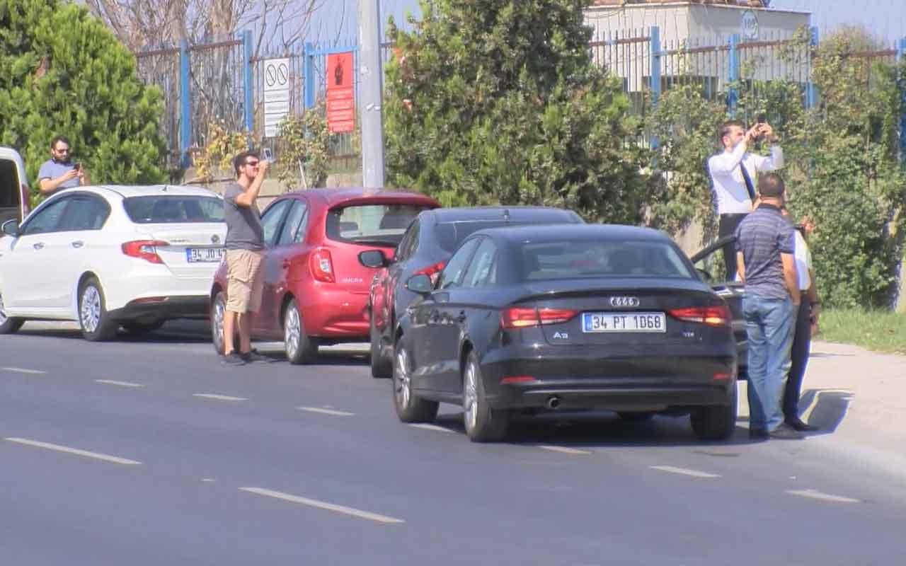 Atatürk Havalimanı çevresinde trafik durdu! Sürücüler telefonlarına sarıldı