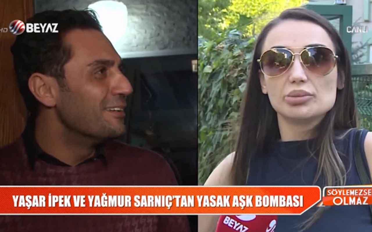 Yaşar İpek'le Yağmur Sarnıç aşk mı yaşıyor olay iddia!