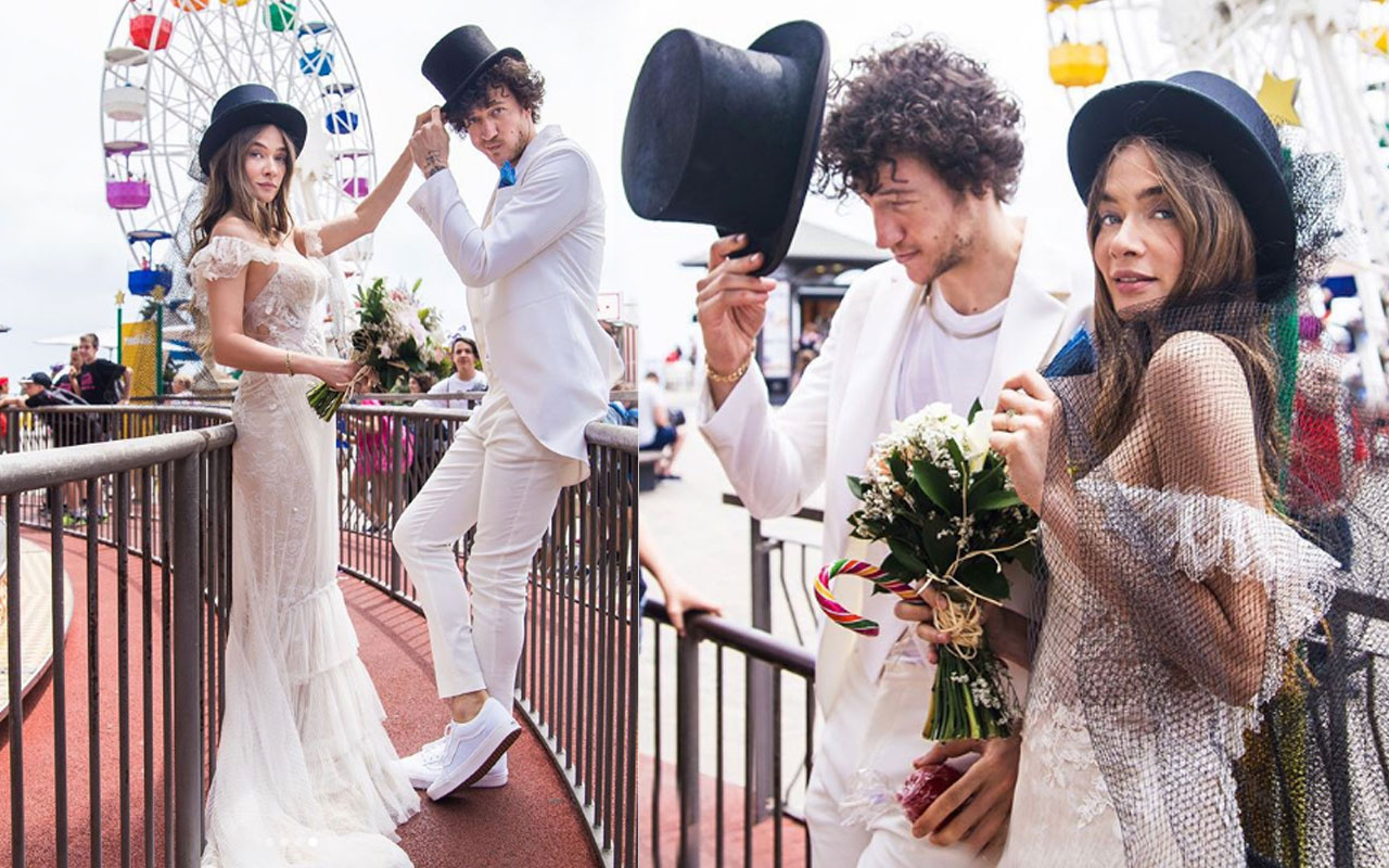 6 Aylık hamile Müge Boz bikinili pozunu paylaştı Caner Erdeniz ile evlenmişti