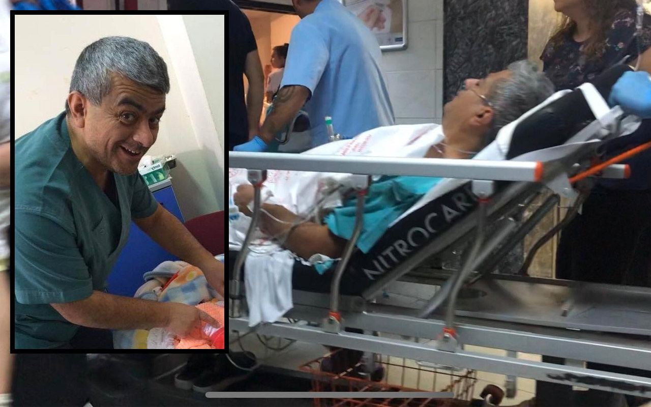 Bursa'da dişi uyuşmayan hasta dehşet saçtı