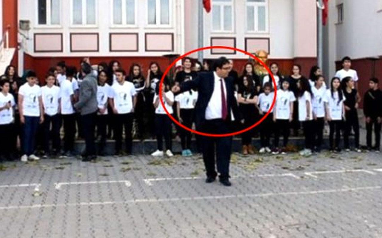 Adana'da 10 Kasım'da göbek atan müdür hakkında tepki çekecek karar! Cezası uzun sürmedi