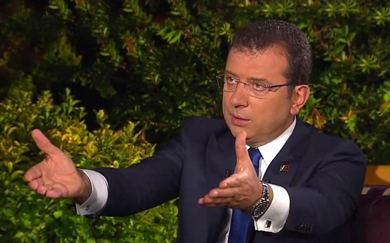 Ekrem İmamoğlu'ndan şaşırtan Süleyman Soylu açıklaması